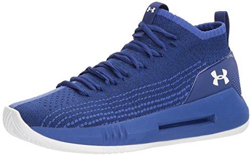 Under Armour Męskie buty do koszykówki UA Heat Seeker, niebieski - Niebieska formacja Blue 501-47 EU