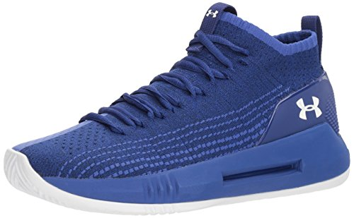 Under Armour UA Heat Seeker, Zapatos de Baloncesto Hombre, Azul (Formation Blue 501), 46 EU