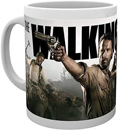 KOSxBO® Witzige Kaffeetasse mit Revolvergriff als Henkel – perfekt für Western und Waffen Fans Teetasse
