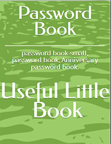 Password Books: Password Keeper for Internet login, Web Address & usernames. Password Journal.