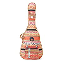 The House Of Tara Handloom Fabric Guitar Case (Multicolor 10) 4