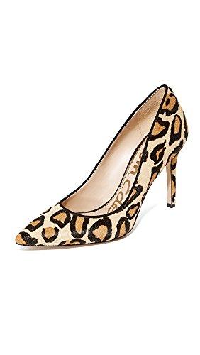 Sam Edelman Women's Classic Hazel Pump, New Nude Leopard, 9 Medium US