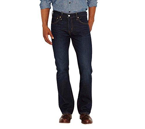 Levi's Herren Jeans 527 Slim Bootcut Fit - Schwarz - 36W / 32L