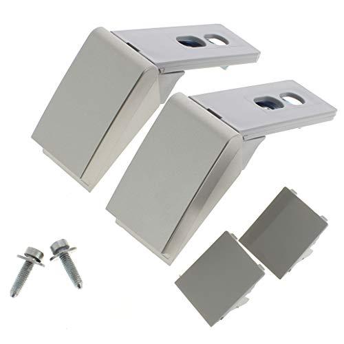 Kit reparation poignee grise adaptable pour Refrigerateur Liebherr