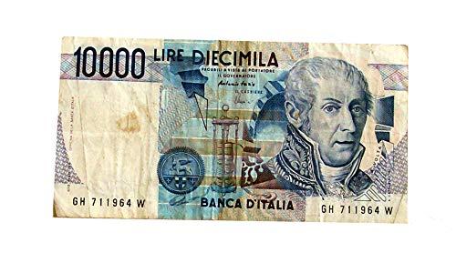 BANCONOTA 10000 LIRE VOLTA 3 SETTEMBRE 1984