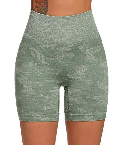 FITTOO Leggings Sin CosturasMallas Mujer Pantalon Deportivo Alta Cintura Yoga Elásticos Seamless Conjunto Tops Yoga