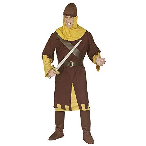 Disfraz de soldado medieval para hombre (ejército)