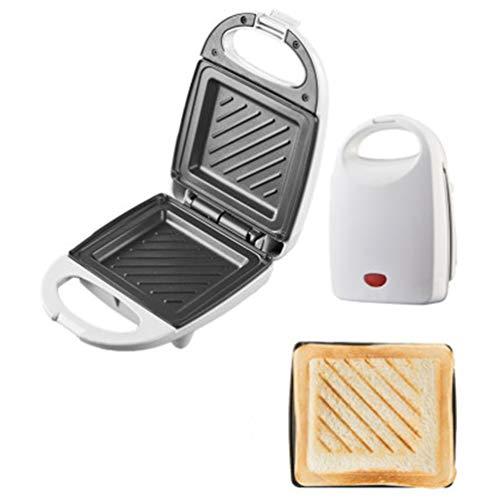 Luffa elves Elektrischer Panini Maker Multifunktionaler Grill Pressplatte Frühstück Waffelbrot Sandwich Backmaschine Toaster Grillofen