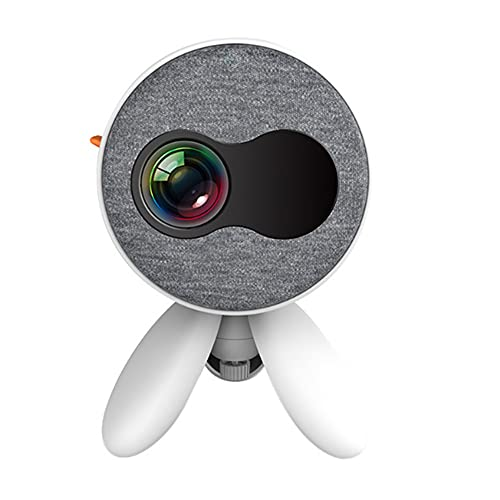 Mini Proyector Full HD 1080P 75 pulgadas Pantalla Adecuada para el proyector de películas portátiles de la escuela de conferencias de oficina en el hogar con 30,000 horas de vida útil de la lámpara LE