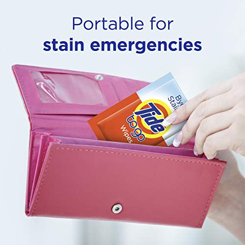 Tide To Go Instant Stain Remover Wipes, 3 Count, 10 Wipes Each