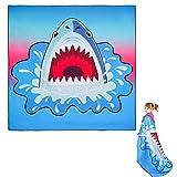 Toalla Playa Microfibra,150x150 Toalla Playa Grandes,Secado rápido, Delgado y Ligero, Prevención de Arena,fácil de Transportar Toalla Playa niño Adulto ,Viaje de Picnic Manta Picnic