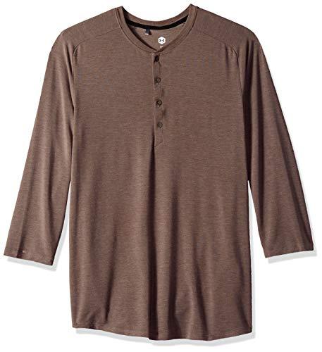 Under Armour recover nachtkleding voor heren, ultra comfort 3/4 shirt met lange mouwen