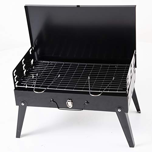 Marko Outdoor Missouri BBQ Portable Folding Barbecue in Carry Case with Handle Camping Outdoor Festival