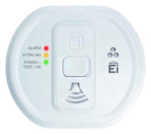 Ei Electronics Ei 207 Kohlenmonoxidwarnmelder (für Wohnung, Camping und Boot, 7 Jahre Produktlebensdauer) weiß, 1 Stück