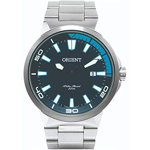 Relógio Masculino Orient Analógico Esportivo Mbss1196A Pasx - Prata