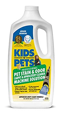 Pet Stain and Odor Carpet and Upholstery Cleaner Machine Solution
