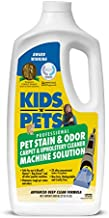 KIDS 'N' PETS Pet Stain & Odor - Carpet & Upholstery Cleaner Machine Solution – 27.05 oz (800 ml) | Professional Strength Formula Deeply Cleans Carpet & Upholstery | Non-Toxic & Child Safe