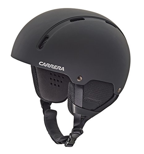 Carrera Skihelm Id, Black Rubber, 55-59