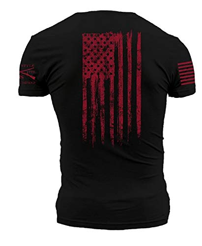 Grunt Style Ink of Liberty Men's T-Shirt, Color Black, Size Small