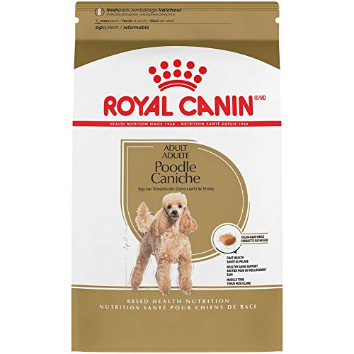 Royal Canin Poodle Adult Breed Specific Dry Dog Food, 2.5 lb. bag