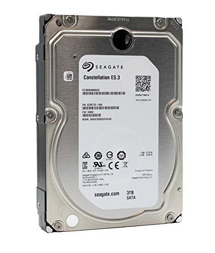 Seagate Constellation ES.3 | ST3000NM0033 | 3TB 7.2K RPM 128 MB Cache 3.5' SATA 6Gb/s | Enterprise Internal Hard Disk Drive HDD