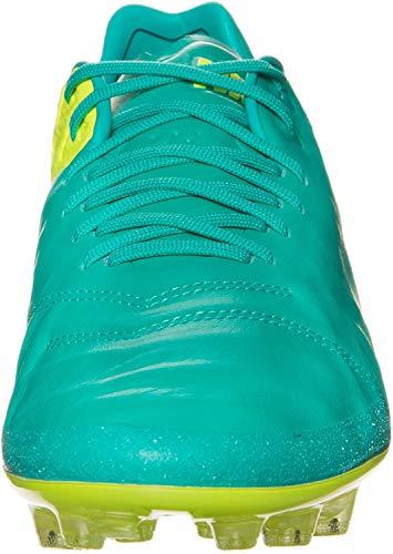 Nike Tiempo Legend Vi AG-R, Botas de fútbol para Hombre, Verde (Clear Jade/Black-Volt-Volt), 41 EU