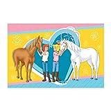 Spreadshirt Bibi und Tina Pferde Amadeus und Sabrina Herz