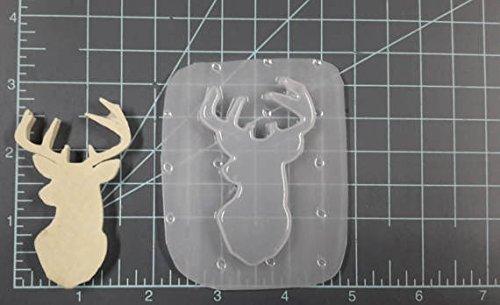 Deer Head Plastic Mold, Resin Mold, Buck Mold, Dear Mold, Head Mold, Animal Mold, Zoo Mold, Hunter Mold, soap Mold, Antlers