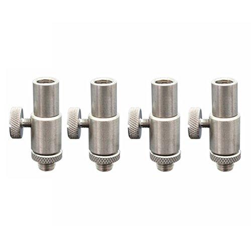 Hirisi Tackle®, conector de acero inoxidable de liberación rápida para picas y trípodes de pesca
