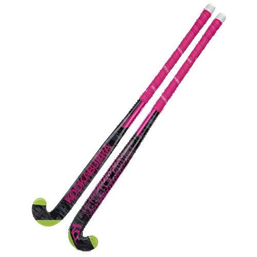 KOOKABURRA Blush Hockeyschläger, Unisex, 86,4 cm, Schwarz