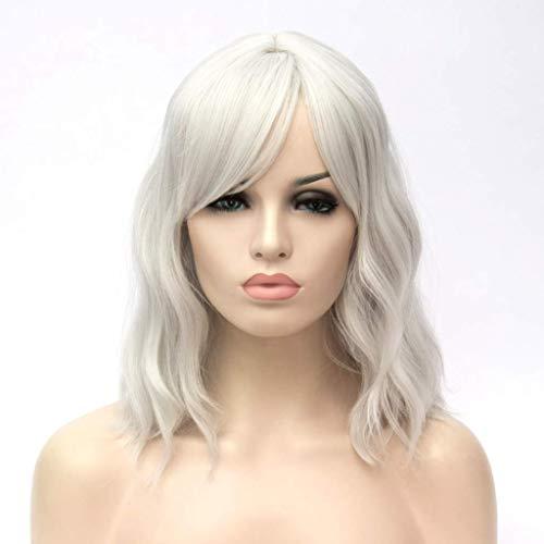 conseguir pelucas blancas cosplay cortas