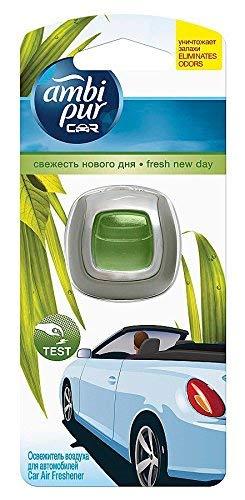 Ambi Pur Car/Auto Lufterfrischer Fresh New Day/Frühlingserwachen (9x2ml)