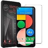 Conie® Bildschirmfolie für Google Pixel 4A 5G, Tempered Glass verstärkte Panzerglas Folie 9H Panzerfolie Gorilla Glasfolie, Pixel 4A 5G Bildschirmschutzfolie Klar