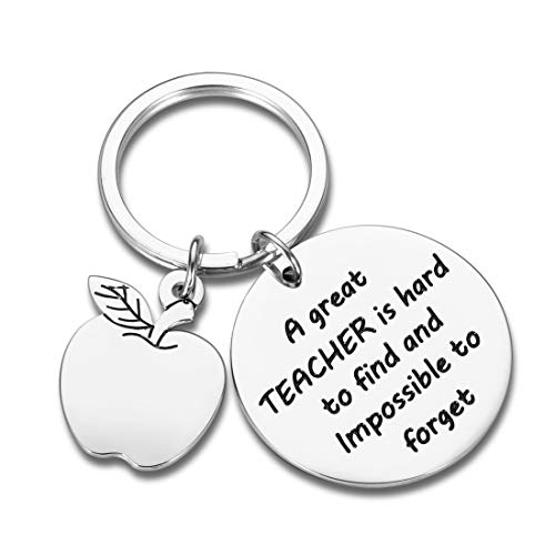 Teacher Appreciation Keychain Gifts for Women Men - Teacher Keychain Teacher Jewelry Teacher Gifts,Thank You Gifts Christmas Birthday Graduation Gifts for Teacher Valentine's Day