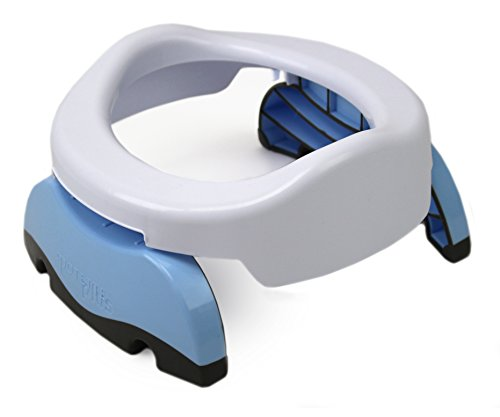 Potette Plus 2-in-1 Compact Universal Potty and Toilet Training Seat