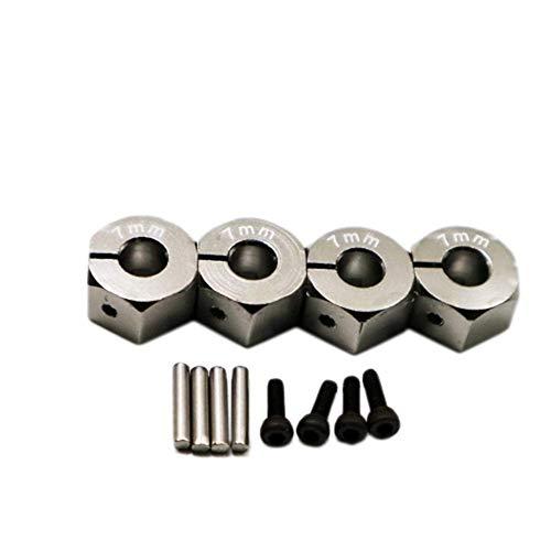 GzxLaY Alloy Hexagon Wheel Set Rc Model Car Set Screws for 1:10 Hpi Venture Fj Cruiser Accessories Spare Parts Accessories ( Color : Titanium ) -  henanouyameishiyeyouxiangongsi