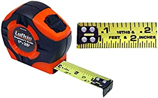 Lufkin PHV1425D Engineer's Power Tape 25'Foot by 1-Inch Hi-Visibility