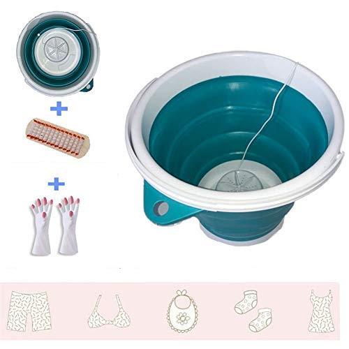 professional Portable mini turbo washer with foldable bathtub Compact ultrasonic turbine washer …