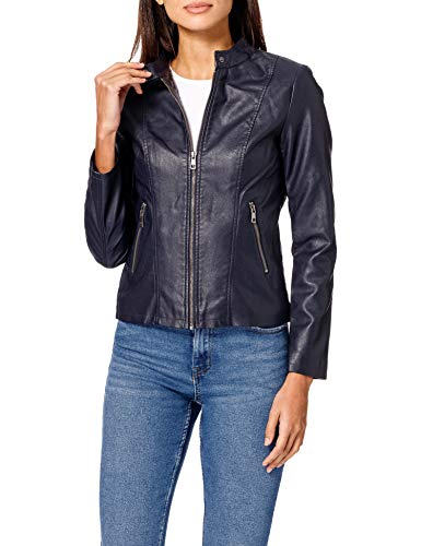 Only ONLMELISA Faux Leather Jacket CC OTW Chaqueta, Night Sky, S para Mujer