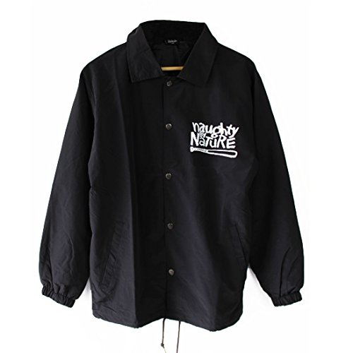 Naughty by Nature Coach Jacket (Small) Black
