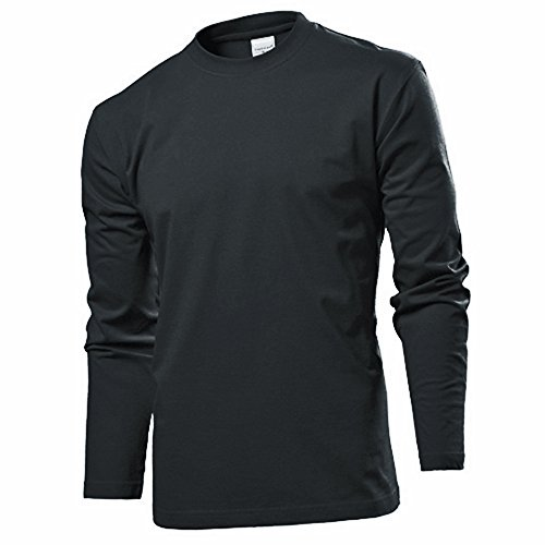 Stedman Langarm T-Shirt Shirt S M L XL XXL XXL BlackOpal M