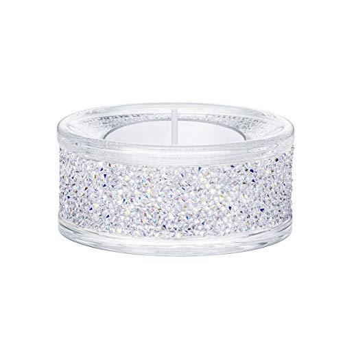 SWAROVSKI Shimmer, Crystal AB Teelichthalter, Einheitsgröße, Violett