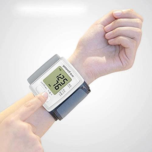 Esfigmomanómetro de brazo superior electrónico, esfigmomanómetro electrónico Tipo de muñeca para el hogar Instrumento automático de medición de presión arterial