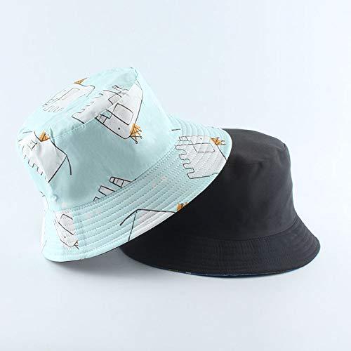 MTBDLYQ Chapeau De Pêcheur Femme,Unisex Fisherman Hat Animal Elephant Print Men Women Réversible Bucket Hat Hip Hop Cap, Automne Vintage Casual Adult Travel Sun Fishing Hat