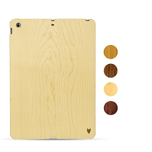 MediaDevil Apple iPad Air 1 (2013) Case in legno (Acero) - Artisancase