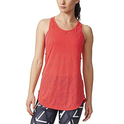 adidas Yogi de Deporte para Mujer de Tirantes, Mujer, Color - Naranja, tamaño M - 38/40