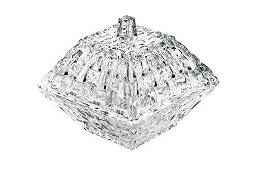 Spiegelau & Nachtmann, Dose mit Deckel, Kristallglas, Größe: 12 cm, Bossa Nova, 0092069-0