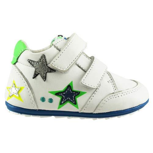 BunniesJR 218103-500 - Kinderschoenen Jongens Maat 20 - Wit - Sneakers