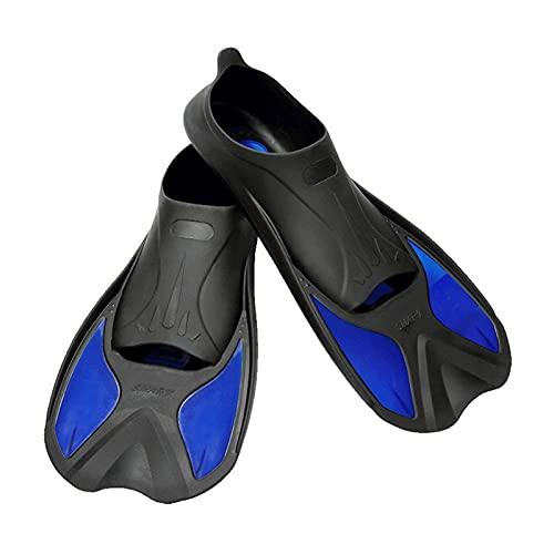 Aletas de Buceo Aletas de natación seguras Aletas de Snorkeling Scuba Ligero Buceo Pippers Profesional Natación Equipo de Buceo para Adultos Niños (Size : 44 to 45)