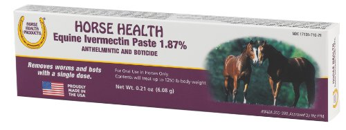 Horse Health 1.87 Ivermectin Single Dose Paste